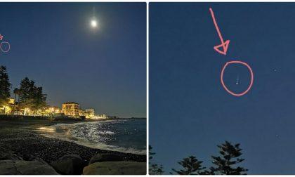 Fotografato oggetto misterioso nel cielo di Bordighera: ecco di cosa si tratta