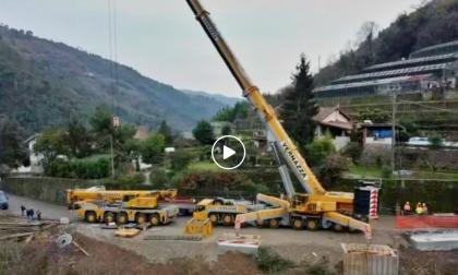 Ponte di Rocchetta: il video col drone e l'intervento di Toti, domani l'inaugurazione