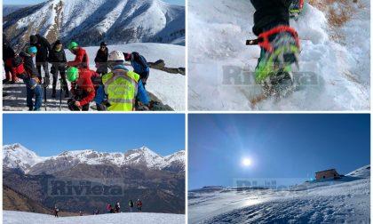 Soccorso Alpino salva 7 escursionisti intrappolati in rifugio. Foto