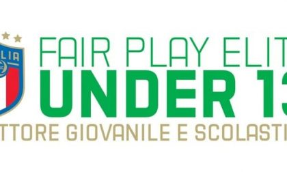 Sabato il via al torneo Fair Play -Under 13 Elite