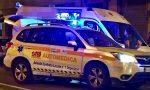 Frontale tra due auto a Cervo, 2 feriti, principio di incendio e Aurelia chiusa