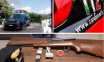 Denunciato muratore in possesso di fucile clandestino