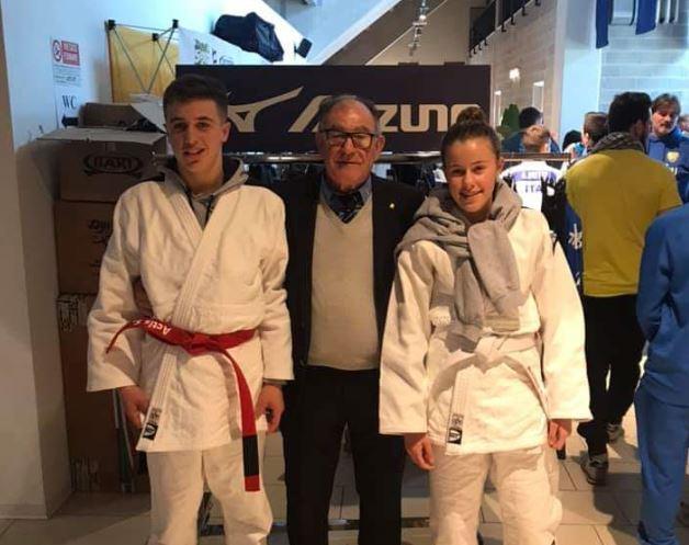 Torneo di Judo: buona posizione dei fratelli Carola e Samuele Actis
