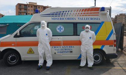 Sospetti Covid in val Nervia, 2 pazienti portati in ospedale