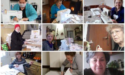 Ceriana mobilita un esercito di casalinghe ed ex sarte per produrre mascherine