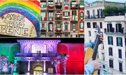 L'Italia sul balcone contro la paura. Due i flash mob previsti oggi