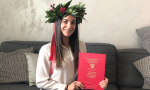 Laurea via Skype per l'ex Miss Cinema Liguria Alessia Lupi