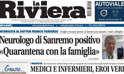 Neurologo di Sanremo positivo al coronavirus in quarantena con la famiglia