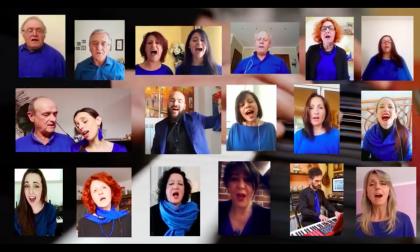 Il coro di Borghetto dedica un brano allo scomparso padre di una corista. Video