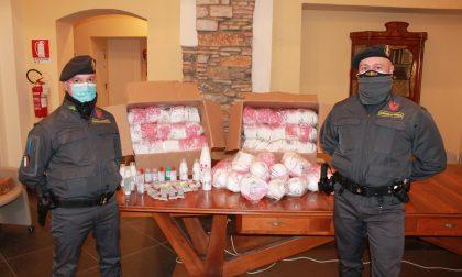 Guardia di Finanza sequestra oltre 2mila mascherine importate illegalmente