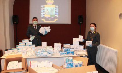 Gdf sequestra nell'Imperiese 14.750 mascherine e altri strumenti di protezione non sicuri