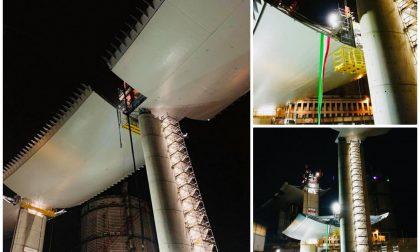 Ponte Morandi: mancano 67 metri per completare l'opera