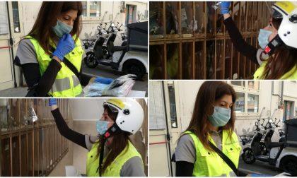 Regione consegna le prime mascherine alle famiglie – Foto