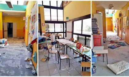 Vandalizzata la scuola di San Bartolomeo, a Sanremo: ecco le foto choc