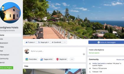 Gli hotel di Bordighera si uniscono e creano una pagina Facebook per la ripresa
