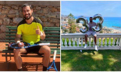 Operazione a entrambe le caviglie per il campione di tennis Fabio Fognini