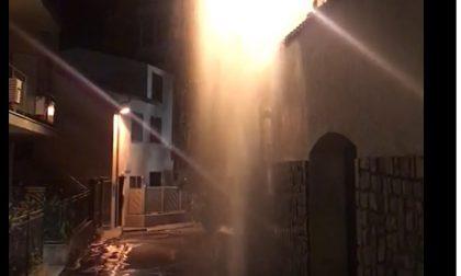 Esplode tubo dell'Amaie a Sanremo, in tanti senza acqua/Il video