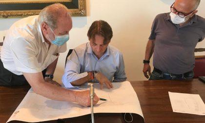 Ciclovia tirrenica e Urbanistica: vertice di Marco Scajola col sindaco Cimiotti di Ospedaletti