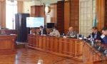 Giunta Toti in Consiglio comunale a Sanremo