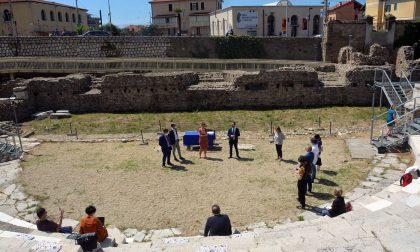 Le Terme e il Teatro romano di Ventimiglia rivivono in una ricostruzione video in 3D. Foto e interviste