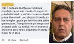 """""""Toti muori di covid"""" – Il governatore ligure pubblica gli insulti ricevuti online"""
