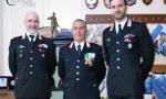 Premiato Mario Felice Rinaldi, comandante della stazione di Arma di Taggia