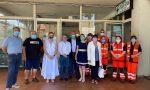 L'assessore Sonia Viale in visita all'ambulatorio medico per turisti della Croce Verde di Taggia