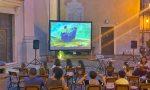 Walt Disney apre ad Airole la rassegna di cinema all'aperto. Foto