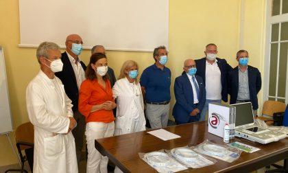 Un nuovo ecografo e 300 visiere per l'ospedale di Sanremo – Foto