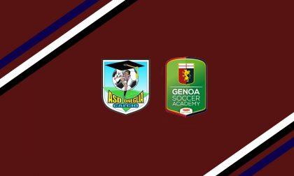 Oneglia Calcio sigla i patto di ferro con Genoa Soccer Academy
