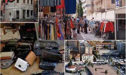 Carabinieri sequestrano oltre 150 articoli contraffatti