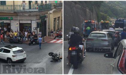 Due incidenti in pochi minuti a Ventimiglia