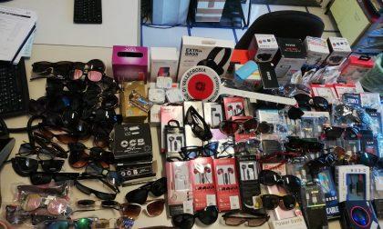 La polizia locale di Vallecrosia scopre deposito di merce contraffatta