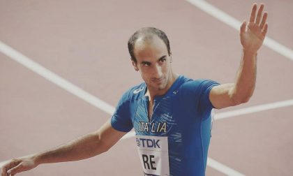 Davide Re in grande forma a Rieti batte i suoi record nei 100 e 200