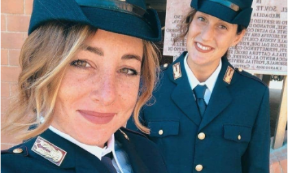 Giuramento nelle forze dell'ordine per le due Giulia del Setterosa