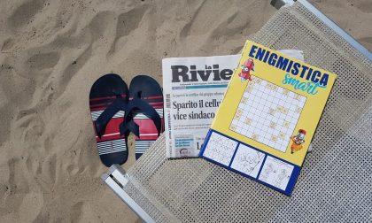 A casa o in spiaggia non perdetevi la rivista di enigmistica in omaggio con La Riviera
