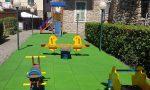 A Soldano rinnovato il parco giochi per bambini