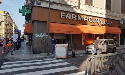 Furto nella notte nella farmacia Salus in centro a Sanremo