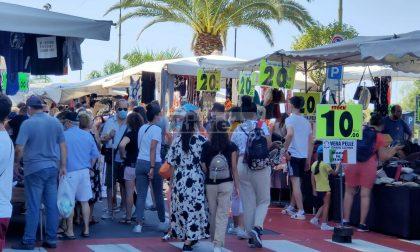 Niente mercato del venerdì a Ventimiglia per l'allerta arancione