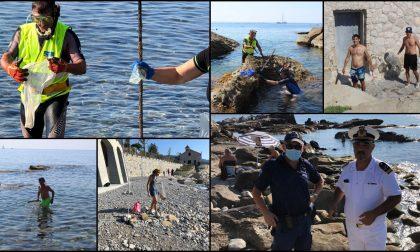 Plastic Hunt a Bordighera: raccolti 15 quintali di ferro e migliaia di mozziconi
