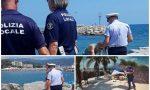 Ferragosto sicuro: i servizi della polizia locale di Diano su spiagge e in città