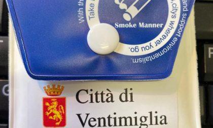 A Ventimiglia sono arrivati 3.000 posaceneri da spiaggia