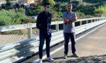 Riaperto il ponte di Borgata Richieri a San Bartolomeo al Mare