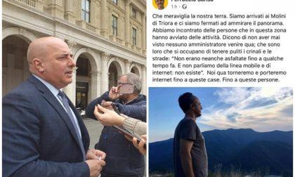 """Gaffe di Sansa sui """"Molini"""" di Triora. E Berrino non lo perdona"""
