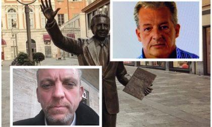 Un selfie con la statua di Mike Bongiorno mentre l'amico uccideva a martellate Amoretti