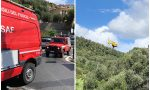 Finisce con la bicicletta nel torrente, portata in elicottero a Pietra Ligure