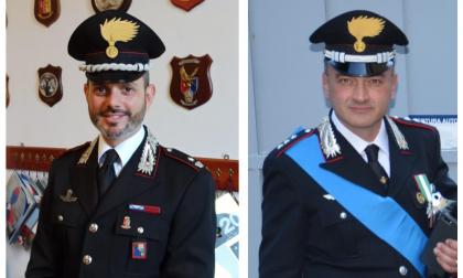 Cambio al vertice della compagnia carabinieri di Ventimiglia e del Nucleo Investigativo