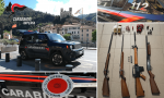 Armi e munizioni illegali arrestati due pensionati