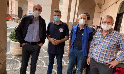 Luigi Sappa al Raid di auto storiche a Pontedassio
