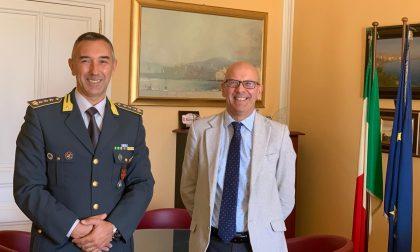 Visita istituzionale in Provincia del nuovo comandante delle Fiamme Gialle